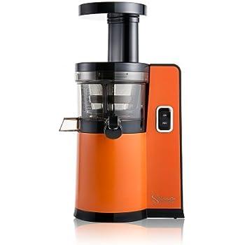 Omega–Extracteur de Jus Vertical Sana by 808(nouveau) Orange