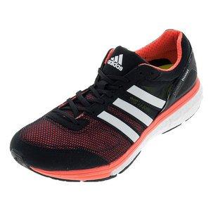 Adidas Adizero Boston Boos, Scarpe sportive, Uomo Black / Red