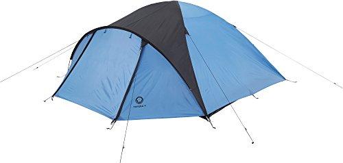 Grand Canyon Topeka 4 Kuppelzelt (4-Personen-Zelt) blau/schwarz, 302205