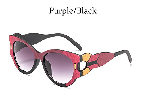 SLONGK Sonnenbrille Frauen Big Cat Eye Brille