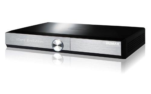 HUMAX Digital iCord Evolution HDTV Quad Satelliten Receiver mit SAT IP Funktion und Festplatte 1000GB (WLAN, Bluetooth, CI+, SD-Kartenslot, HDMI, USB) schwarz