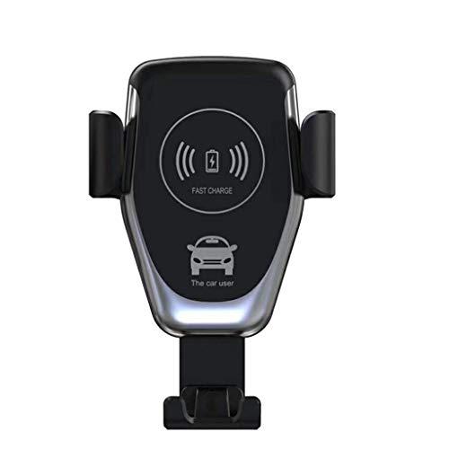Webla - Cargador coche Inalámbrico Qi Cargador coche