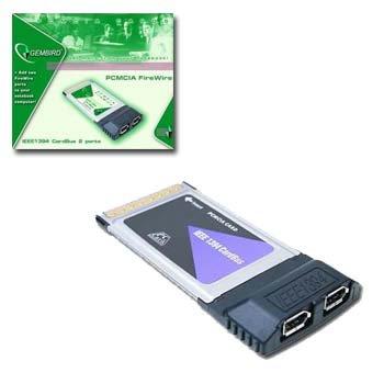 SCHEDA GEMBIRD PCMCIA FIREWIRE 2 PORTE X NOTEBOOK MOD. usato  Spedito ovunque in Italia