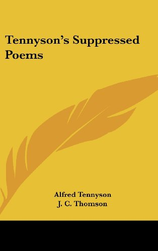 Tennyson's Suppressed Poems