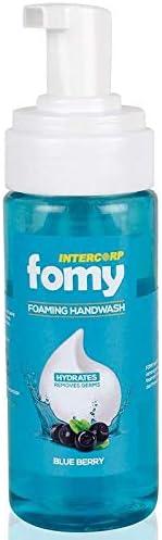 INTERCORP FOMY Antibacterial Soft Refreshing Foam Hand Wash, 160 ml (Blue Berry)
