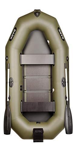 BARK B-260 B-260N B-260NP 2.6 m 260 cm Schlauchboot für 2 Person Paddelboot Ruderboot Motorboot Angelboot Heckspiegel Lattenboden e-Motor Professionelle Ausführung (B-260N Lattenboden Heckspiegel)