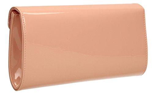 SwankySwans, Poschette giorno donna Taglia unica Pink Nude