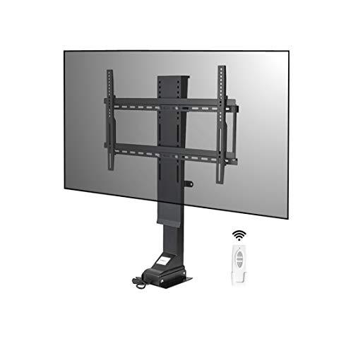 """I-NOVA Support TV motorisé Ascenseur pour téléviseur 32""""-70"""" TV Lift 820mm 4K LED OLED mémoire de Position, Technologie silencieuse, Course Rapide 1''/s 182 cm, capacité Charge 70 kg"""