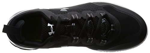 Under Armour Herren Ua Charged Ultimate Tr Low Turnschuhe Schwarz / Weiß / Graphit
