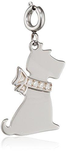 Nomination Damen-Charm SYMPHONY Hund 925 Silber Zirkonia weiß - 026222/015 Preisvergleich