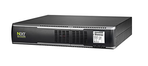 Next UPS Systems Logix RT 1500Conversion (Online) 1500VA 8AC Outlet (S) Rackmount/Tower Black Uninterruptible Power Supply (UPS)-Uninterruptible Power Supplies (UPSs) (1500VA, 1350W, 55V, 300V, 208V, 240V) -