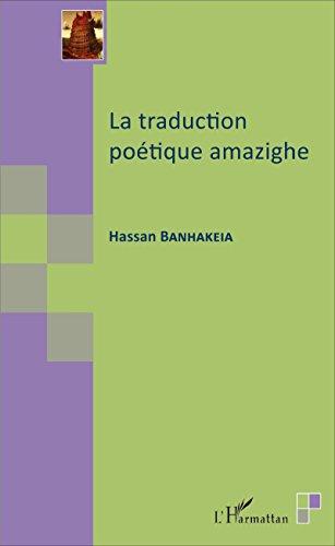 La traduction poétique amazighe