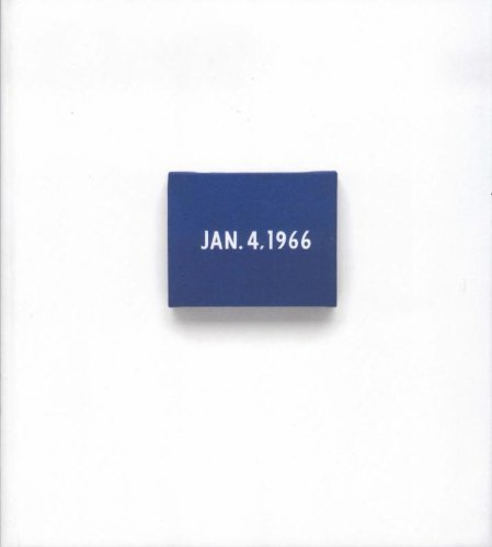 On Kawara Date Paintings In New York And 136 Other Cities