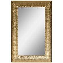 Specchio dorato da parete - Specchio con cornice dorata ...