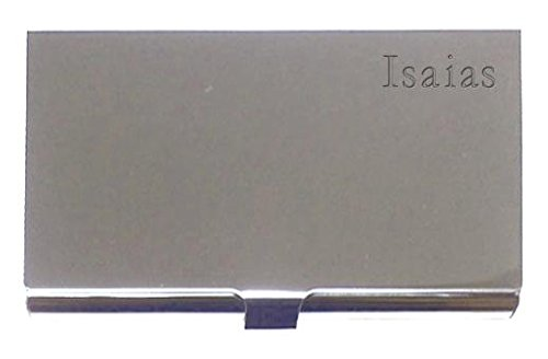 engraved-business-card-holder-engraved-name-isaias-first-name-surname-nickname