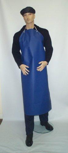 Preisvergleich Produktbild PRT  Schürze, PVC/ Nylon, wasserfest, 122cm, Blau