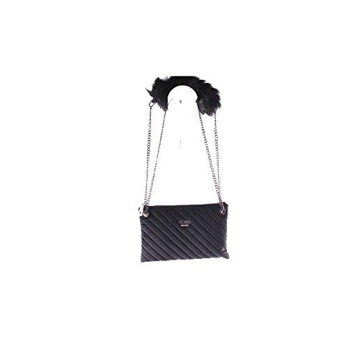 GUESS (Fall In Love) Borsa Tracolla Mini Pochette Zip Peluche VF679072