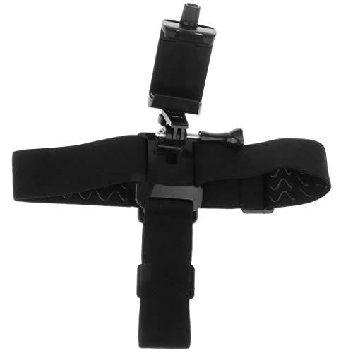 Arnés Cinturón de Cabeza Adjustable Compatible con Móvil Inteligente Universal