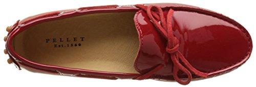 Pellets Thelma E17, Mocassins Femme Rouge (vernis Rouge)