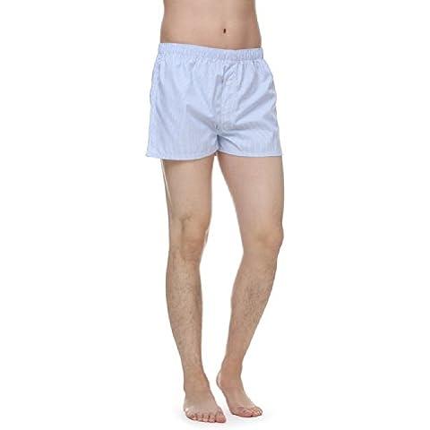Janeo Men's Boxer Shorts -  Boxer  - A quadri - Uomo