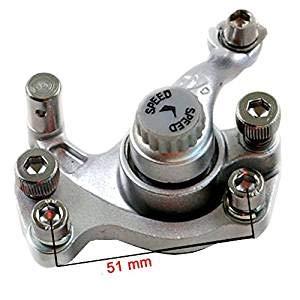 Mach1 Bremssattel Bremse Benzin oder Elektro E-Scooter/Bremsanlag silber