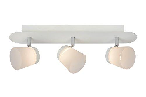 Lucide heloïse de–Diámetro–Foco LED de techo 10cm–LED–2x 5W 3000K–Blanco, metal, weiß, 45,5...