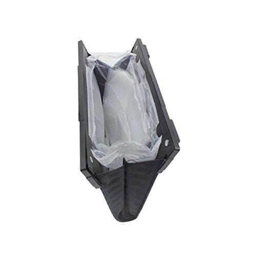 VORCOOL Auto Abfalleimer faltbarer Müllsack wasserdichte zusammenklappbarer Auto Papierkorb
