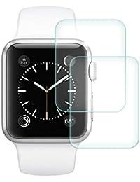 Película protectora de pantalla, de cristal templado, para Apple Watch de 38 mm, protección pantalla iWatch, salvapantallas, irrompible