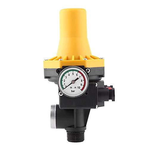 Automatischer Wasserpumpe, 220 V Press Control Regler, elektronischer Schalter mit Manometer einstellbar Pression Control