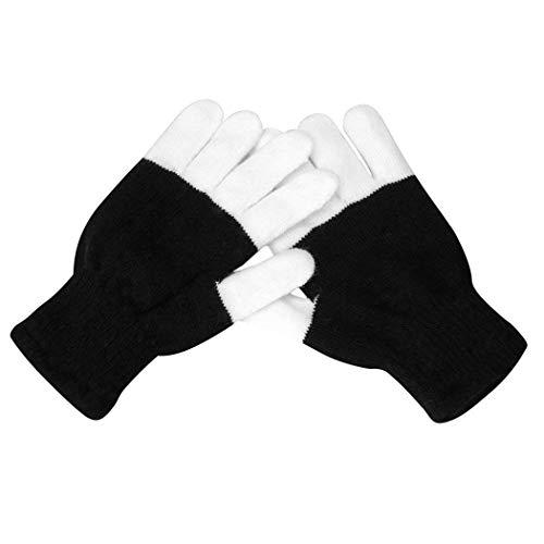 Oudiya LED Leuchtende Handschuhe Finger Light Toys mit Lichtern Begeisterte Handschuhe für Party Kinder