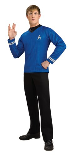 Rubies 3 889118 L - Star Trek Deluxe Shirt, Größe L, (Fiction Kostüm Party Science)