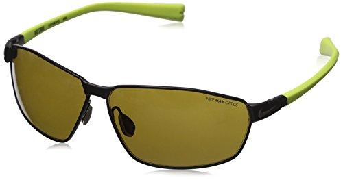 Nike Stride Sonnenbrille, Herren, Matte Gunmetal/Voltage