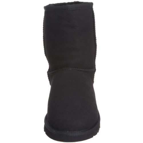 UGG K's Classic Short 5251, Stivali Unisex Bambino Negro