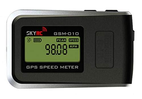 HERCHR Geschwindigkeitsmesser SKYRC GSM-010 GPS RC Cars Multirotor Helikopter #SK-500002-01 schwarz