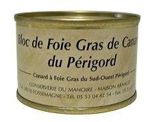 Bloc de Foie Gras di Anatra del Perigord 65gr - Conserverie du Manoire