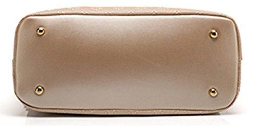 Keshi Pu Niedlich Damen Handtaschen, Hobo-Bags, Schultertaschen, Beutel, Beuteltaschen, Trend-Bags, Velours, Veloursleder, Wildleder, Tasche Weiß