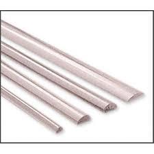 Sterling Silber 925Hälfte rund Draht 0,6mm (22Gauge) Hälfte Hart–1Meter