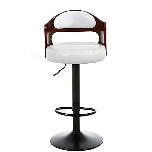 Lineary-home Barhocker Stühle Modern 360 Grad Swivel Verstellbarer Barhocker, Mordern Pu Leder Pub-Stuhl (Farbe : C11, Größe : Height 60-80cm) -