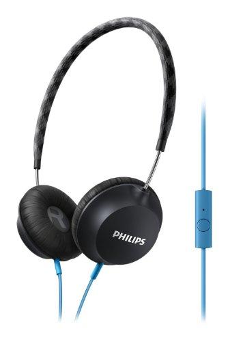 Philips CitiScape Weg shl5105bk/00Stereophonisch Kopfband Schwarz, Blau Kopfhörer