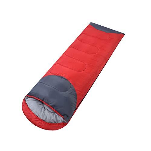 Sac de couchage LCSHAN Polyester Portable Voyage Quatre Saisons Adulte Extérieur Indoor Simple