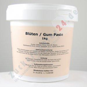 Tortenkleid Gum - Blütenpaste weiß 1kg