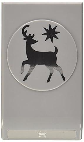 EK Success groß punch-elegant Deer (Ek Success Border Punches)