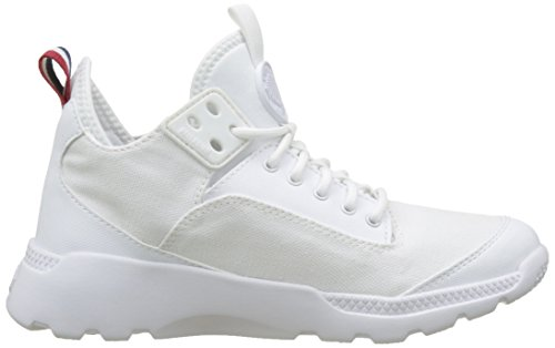 Palladium Desvilles, Sneakers Basses Mixte Adulte Blanc (White/bwr)