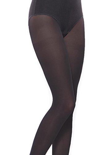 257c379b654fd School plain black opaque girl's tights multipacks Aurellie