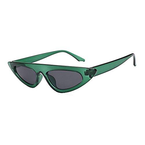 Battnot☀  Sonnenbrille für Damen Herren, Unisex Vintage Mode Katzenaugen Frame Rahmen UV Gläser Sonnenbrillen Männer Frauen Retro Billig Cat Eye Sunglasses Coole Women Fashion Travel Eyewear