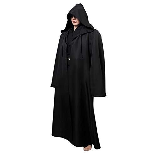 Gaosheng Cosplay Kostüm Star Wars Anakin Skywalker Uniform Schwarz für Cosplay Party