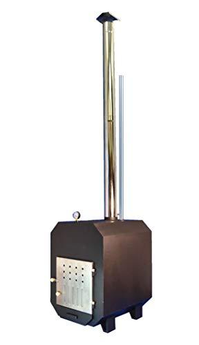 TRONGAARD Poolofen/Poolheizung/Ofen für Badetonnen/Badefässer 75KW - mit Holz befeuert