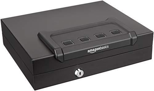 AmazonBasics - Caja fuerte de acceso rápido para arma de fuego