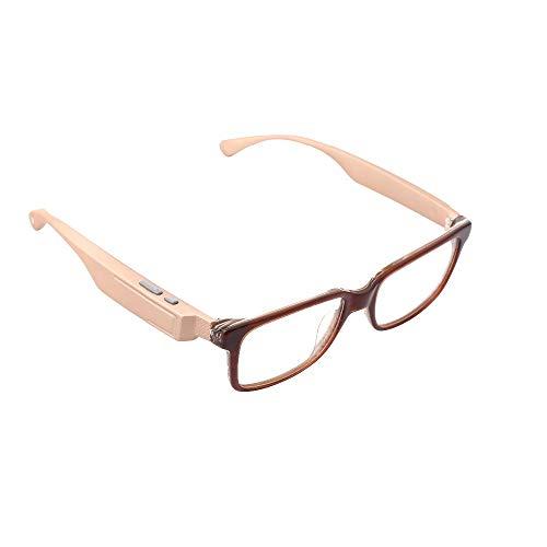 WMWHALE Bluetooth Kopfhörer Brille Wireless Bluetooth 4.1 Smart Polarized Sonnenbrille Musik Freisprecheinrichtung Stereo Kopfhörer Sprachsteuerung,4