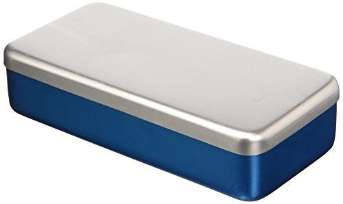 Cardiomedical Products 208 Aluminium Kasten, 21,8 cm x 10,6 cm x 5 cm